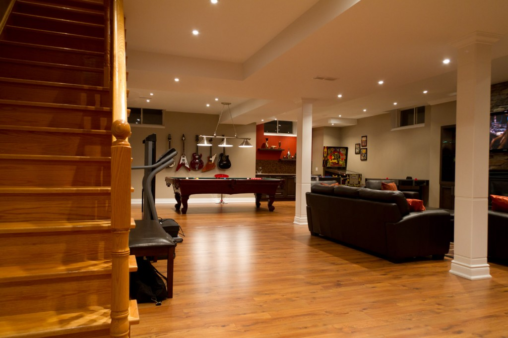 Basement remodeling ideas casual cottage - Basement remodeling ideas ...