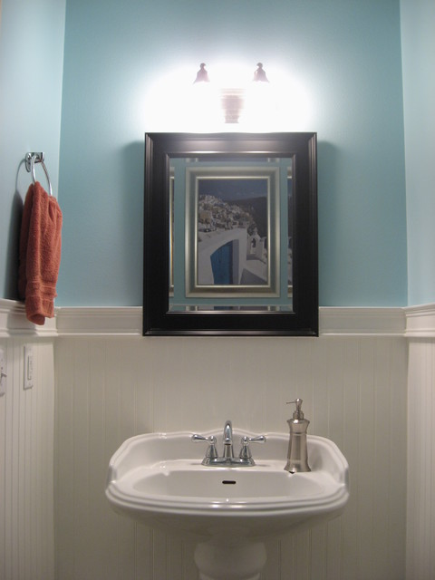 Make your half bath stand outpaul cottle construction Half bath ideas